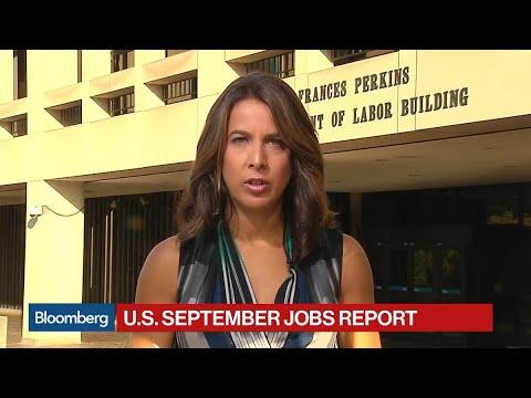 U.S. Sept. Payrolls Fall 33,000, Jobless Rate 4.2%