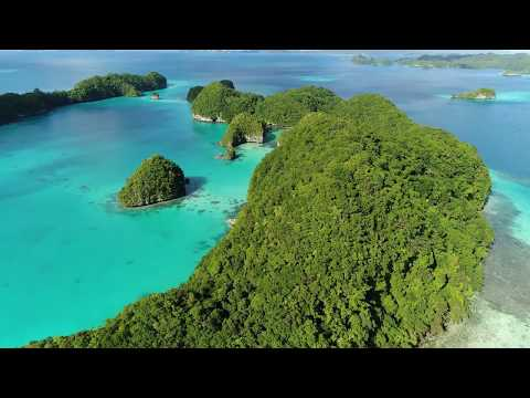 Palau Rock Island and Long Island Sand Bar