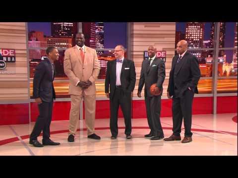 Damian Lillard joins Inside the NBA on TNT