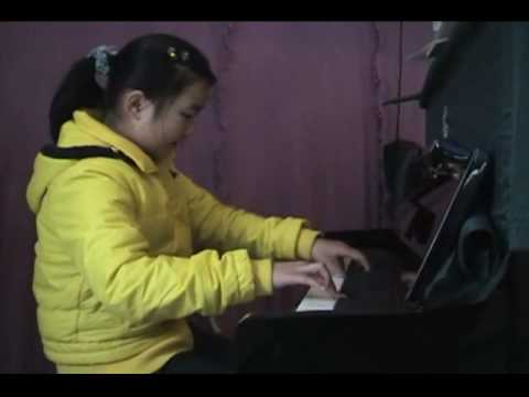 10 year-old Chinese piano virtuoso in Chengdu