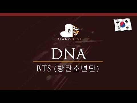 BTS (방탄소년단) - DNA  - HIGHER Key (Piano Karaoke / Sing Along)