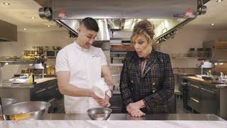 Making Sweet Potato Latkes with Shirley Maisel (AKA The Real Mrs. Maisel!)