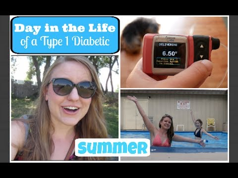 SUMMER Day-In-The-Life of a T1 Diabetic! ~ Running, Dog Park, and Pool Time!