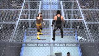 WWE SmackDown vs Raw 2011: Hell in a Cell - FULL MATCH