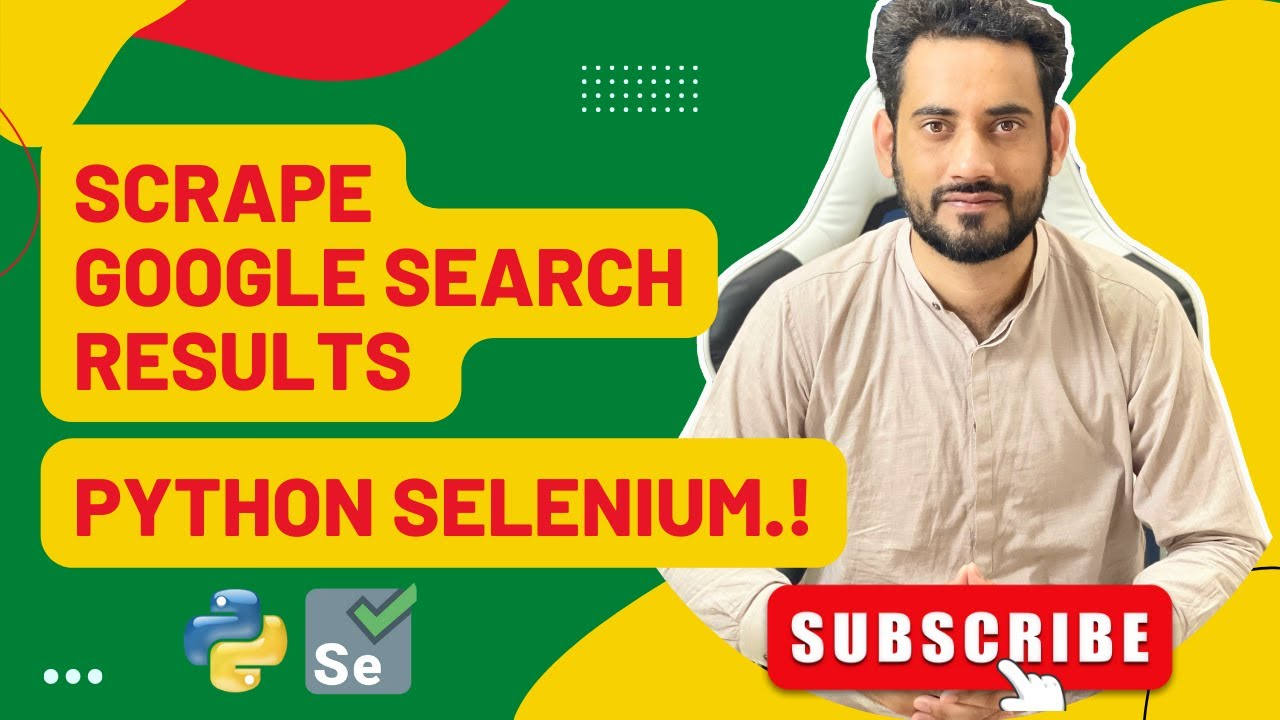 Download How To Scrape Google Search Results Python Selenium Webdriver