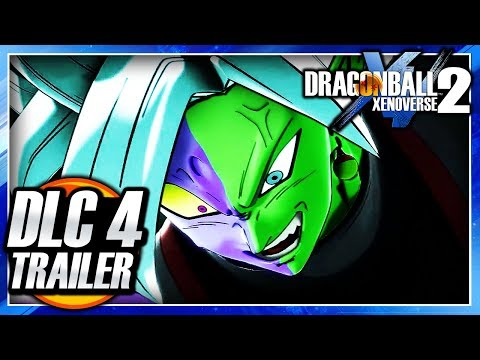 Dragon Ball Xenoverse 2 - DLC Pack 4 Trailer - DB Super Pack 4 Gameplay (Zero Mortals Plan)