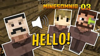 HERMITCRAFT VILLAGER Sounds Resource Pack - Minesomnia Minecraft Survival Lets Play 03