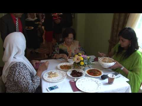 Mijn Film  Wedding  ceremony  Marina  and  Martin  at Rumah  Malaysia