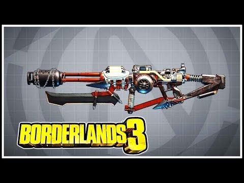 Embrace the Pain Borderlands 3 Legendary Showcase