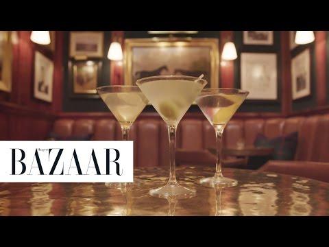 3 Classic Ways to Make a Martini