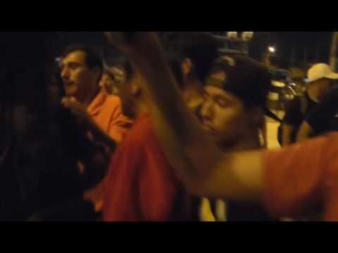Religiosos destruyen equipo de sonido en concierto de rock en Independencia.