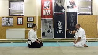 how to bow in aikido (REI) meghajlás [TUTORIAL] Aikido dojo etiquette