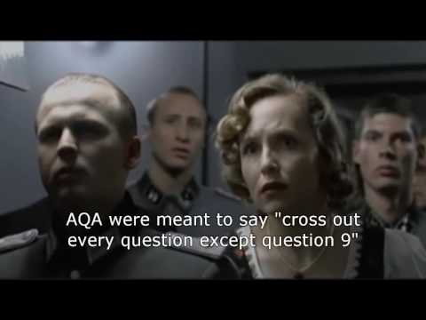 Hitler reacts to AQA Physics Paper 2 (2016)