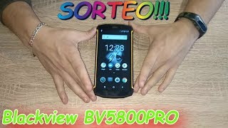 Review + sorteo internacional-#3- Review Telefono movil Blackview BV5800 PRO!!!