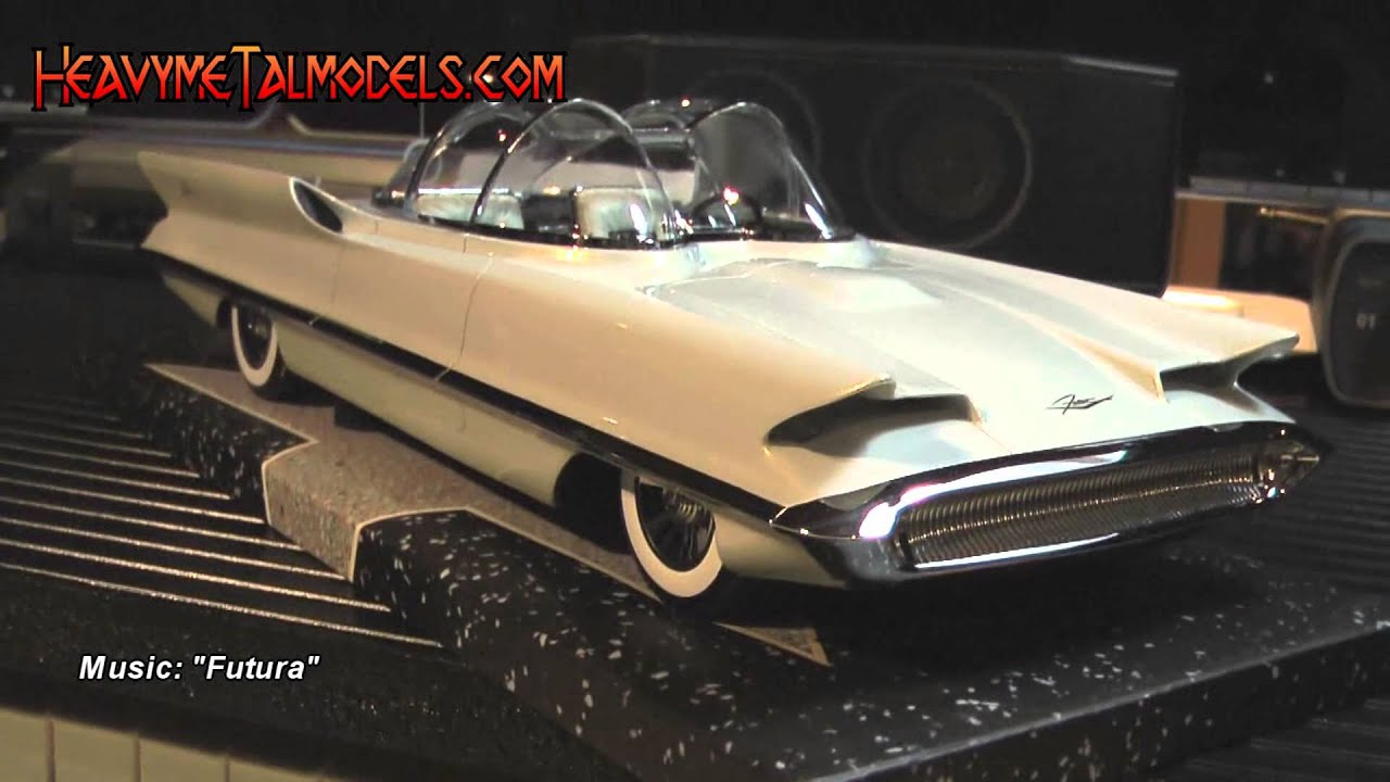 Minichamps 1 18 Lincoln Futura Heavy Metal Models Youtube