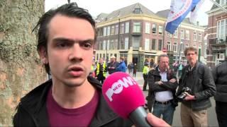 PowNews, 7 april 2014: Pro- en anti-Wildersdemonstratie in Nijmegen
