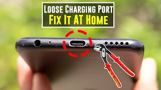 HOW TO FIX ANDROID PHONE CHARGING PORT | NOT CHARGING |  | LOOSE PORT MIA1