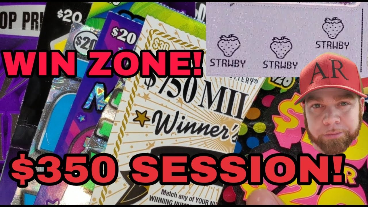WIN ZONE! CHASE RD 1! $350 IN TX LOTTERY SCRATCH OFF TICKETS!