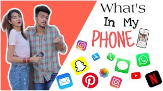 What's in my phone ? 📲 / Ft . Mr Mrs Narula / Narula Couple