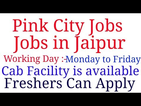 Jobs For Fresher & Experienced Candidates|Pink City Jobs - Jobs In Jaipur