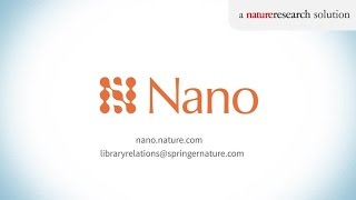 Introducing Nano - the new nature research solution