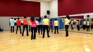 In Love Again - Line Dance (Dance & Teach in English & 中文)