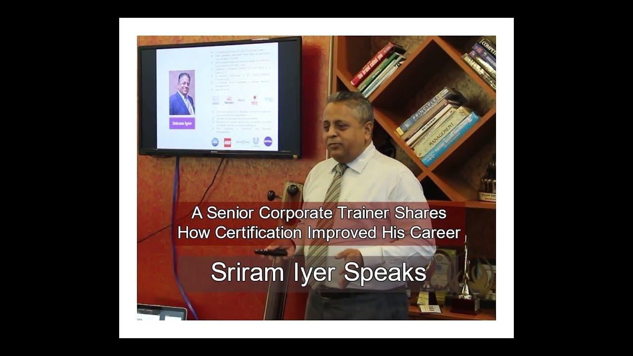 Senior corporate trainer shares how certification improved his senior corporate trainer shares how certification improved his career 1betcityfo Gallery