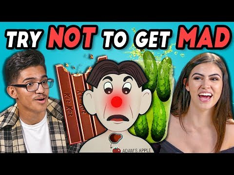 TEENS REACT TO TRY NOT TO GET MAD CHALLENGE #5
