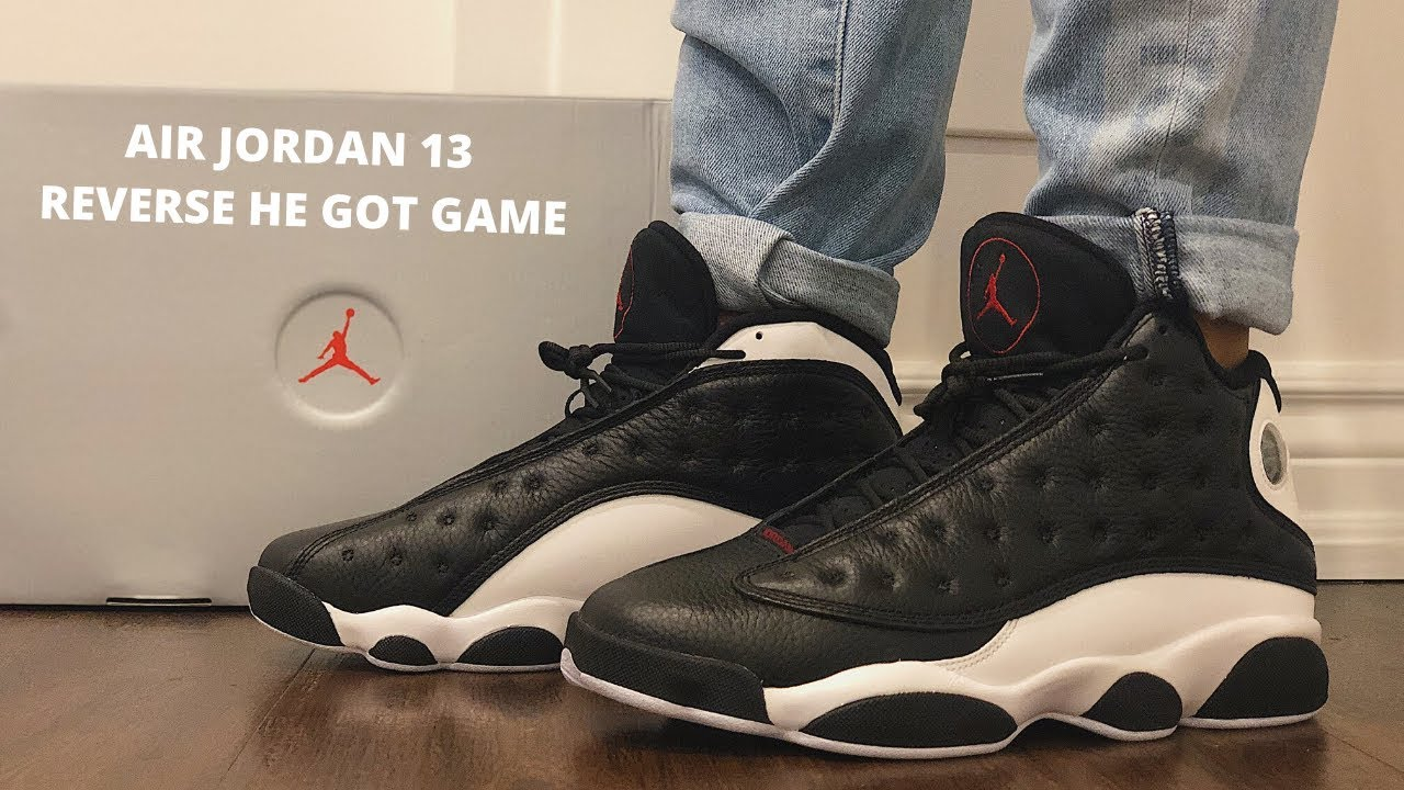air jordan 13 he got game reverse