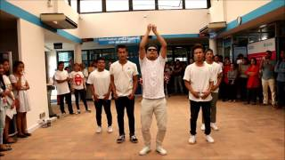 Flashmob in the British Council for CS Week
