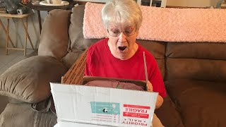 Granny HELPS with a Reborn Doll Box Opening! Marcus by AK Kitagawa