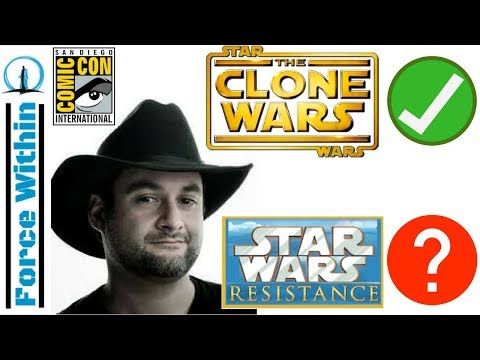 Dave Filoni Heading to SDCC! More Star Wars Resistance News or a Trailer Coming Too?
