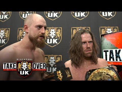 Zack Gibson & James Drake silence the doubters after making history: WWE Exclusive, Jan. 12, 2019