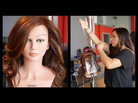Khloe Kardashian Hair - Ecaille Hair Color Technique Tutorial ...