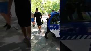 Robo en el transporte urbano de Córdoba, ladrones detenidos en vía pública