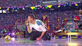 Coldplay - Super Bowl Halftime Show 2016 (Fans