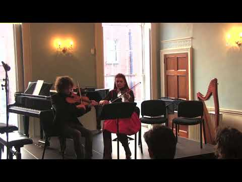 Imogen Gunner And Ultan O'Brien Perform Kevin O'Connell's 'Air And Reel'
