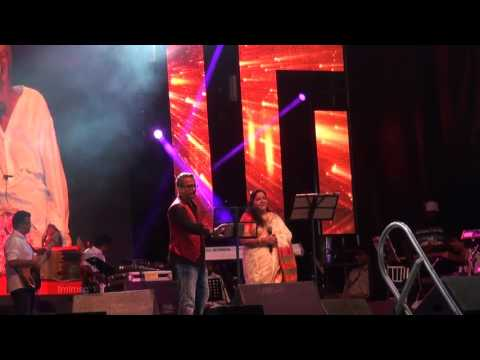 SPB 50 Grand Musical Tour in Toronto - Chitra and S. P. B. Charan sing Naan Pogiren