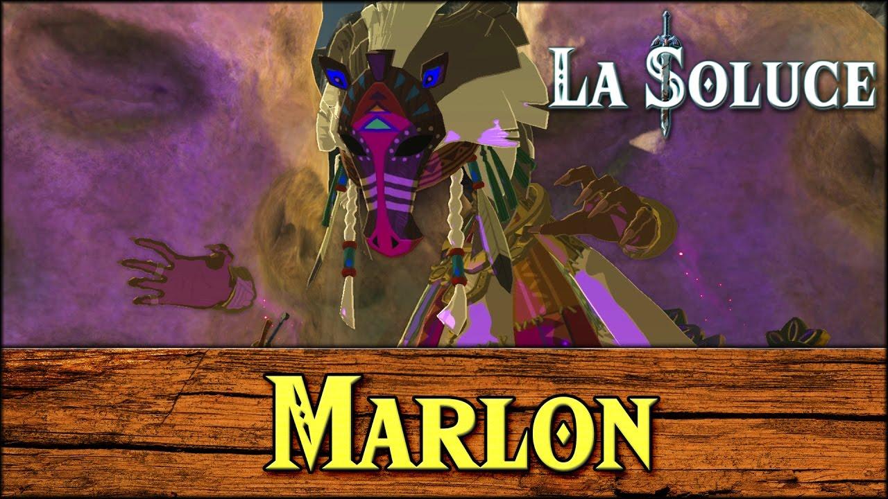 MARLON LA DIVINITE DES CHEVAUX - HORSE FAIRY - ZELDA BOTW