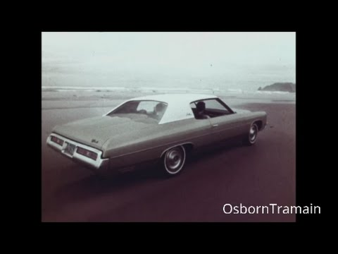 "1972 Chevy Impala Commercial - Casey Kasem Voice Over ""A better way to see the U.S.A."""