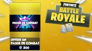 HOW to offer THE COMBAT PASSE ON FORTNITE BATTLE ROYALE