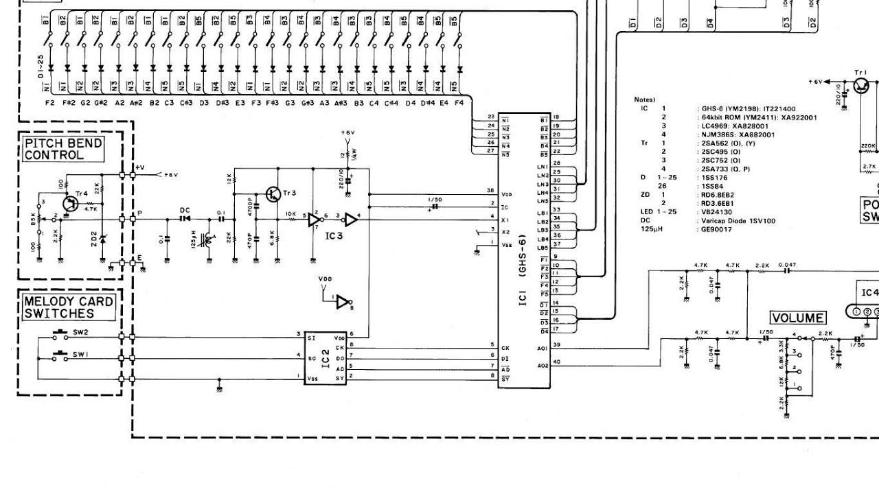 Yamaha Tyu 40 Pitch Bender Demo