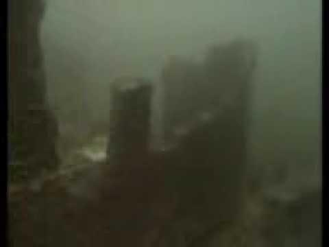 Drowned Village of Llanwddyn under Lake Vyrnwy in Wales