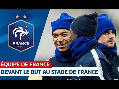 Séance de vivacité au Stade de France, Equipe de France I FFF 2018