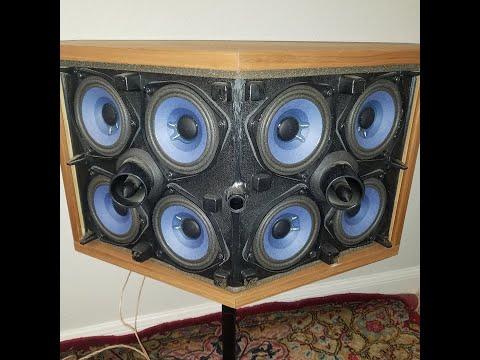 Bose 901 Vi Sound Test Club Music