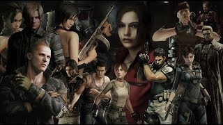 Resident Evil Tribute   Time Of Dying