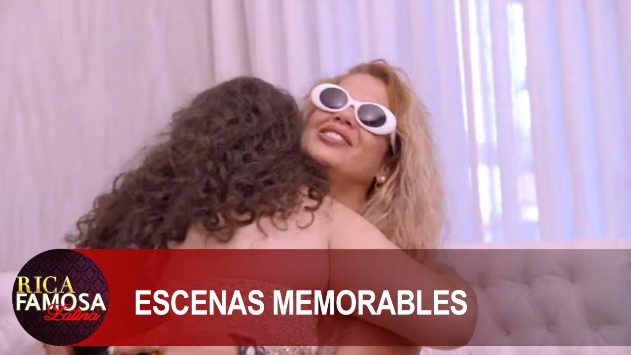 "LLEGO LA MADRINA MAS PERRONA ""NIURKA"" CON LENTES PLAYEROS | Rica Famosa Latina | Escenas Memorables"