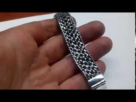 Браслет из серебра ручной работы тайский. Ручная работа. Серебро.