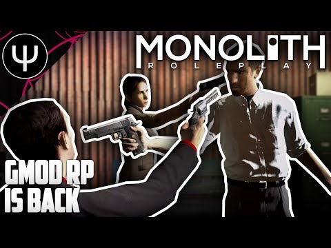 GMod: Monolith RP Mod — First Look — GMod Roleplay Is BACK!