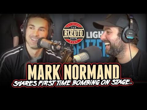 MARK NORMAND talks first time BOMBING on stage & selling jokes to other comedians... [Rizzuto Show]